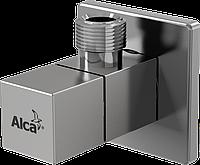 Угловой вентиль с фильтром 1/2 × 3/8, квадратный AlcaPlast ARV002