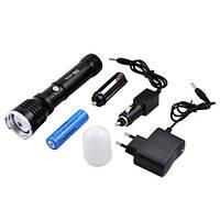 Аккумуляторный Фонарик Police Y901/515-XPE, zoom, магнит, колпачок Диод Cree Q5