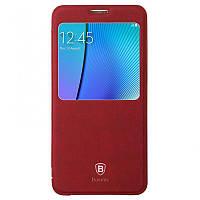 Чехол-книжка Baseus для Samsung Galaxy Note 5 бордовый