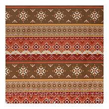 Красивая винтажная ткань для штор, геометрический орнамент с тефлоновой пропиткой Ткани на метраж