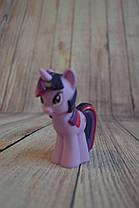 Резиновые Пони/ My Little Pony 3 вида (10 см) Искорка