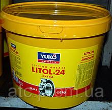 Смазка Литол-24 (9кг/10л)