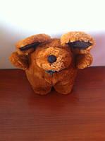 Милая мягкая игрушка Мышка коричневая