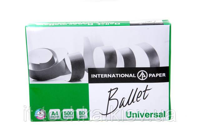 Офисная бумага ballet universal bt.a4.80.un А4 класc С+ 500 листов