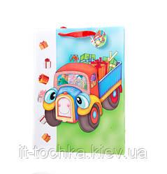 Подарочный пакет 3d 01461 Транспорт 30*42*12см