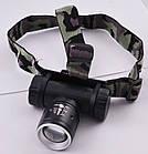 Ультрафиолетовый налобный фонарь Police BL-6952, фото 3