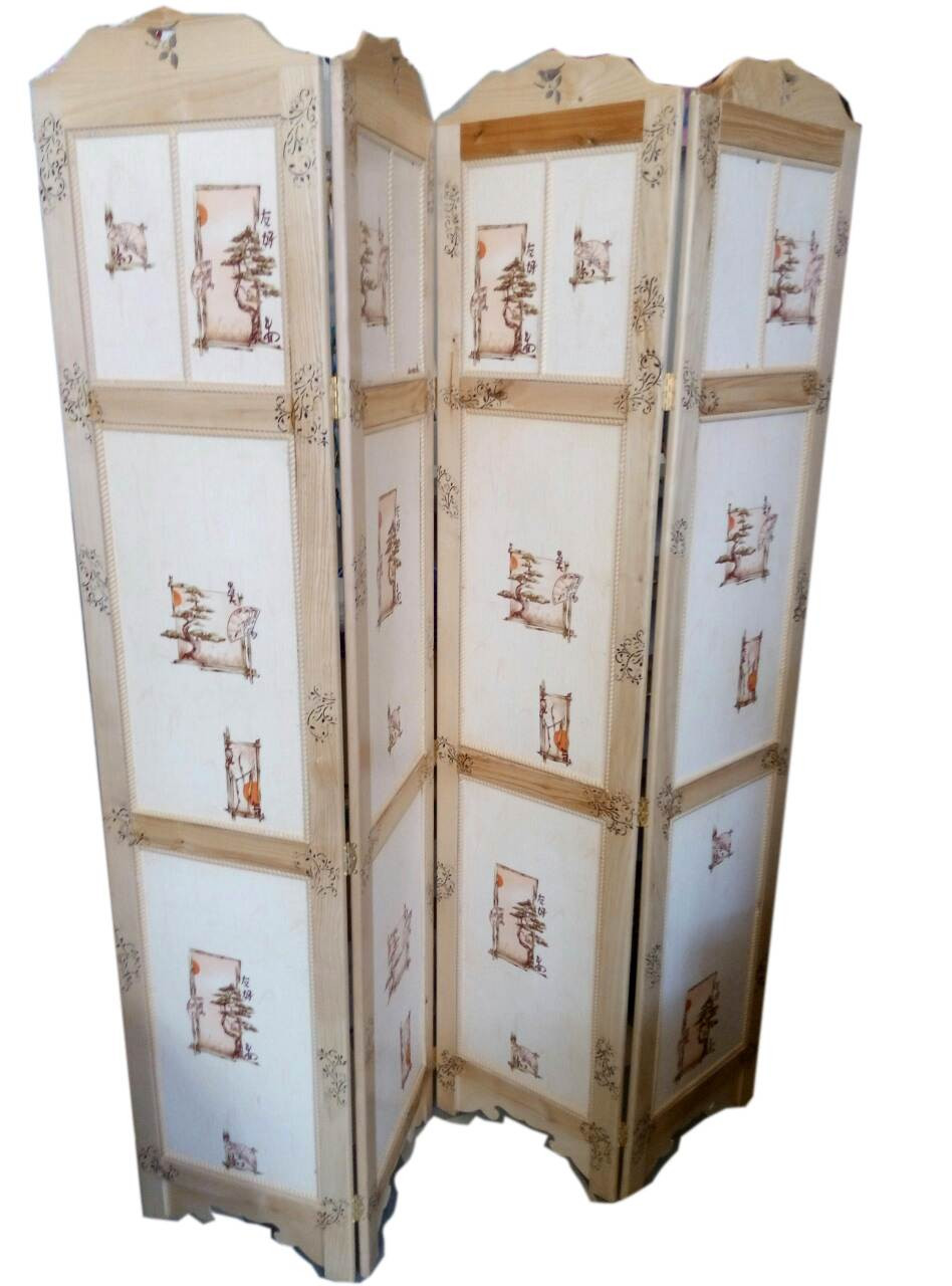 Ширма перегородка Китайский орнамент - Интернет магазин Старик Хоттабыч в Киеве