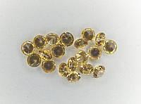 Натуральный Желтый Сапфир Круг 2.2мм