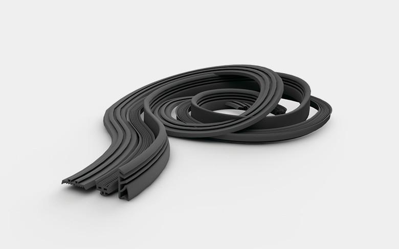Резина уплотнительная EDPM для алюминиевой крышки/базы