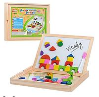 Доска для рисования с магнитной мозаикой (MD 0049)