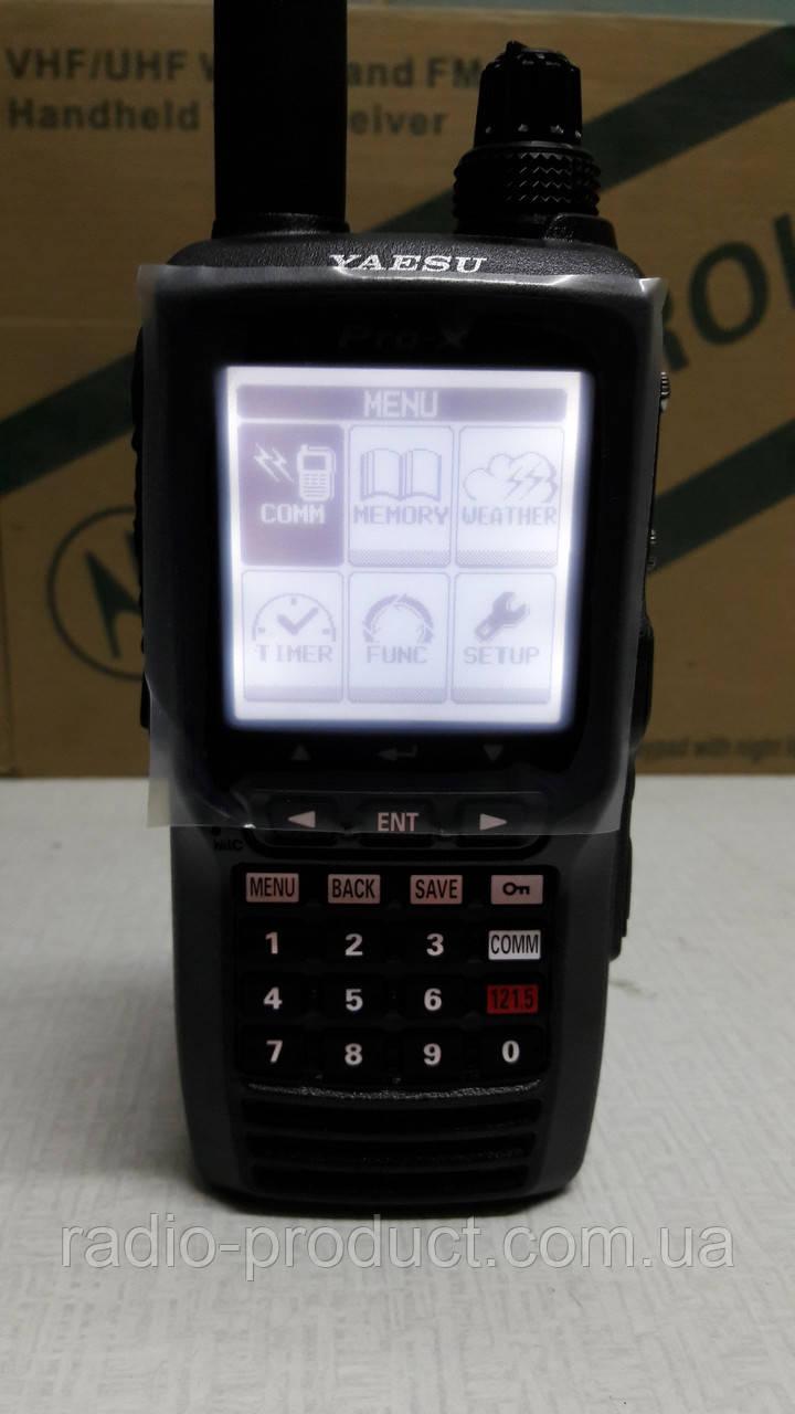 Авиационная радиостанция Yaesu FTA-550A
