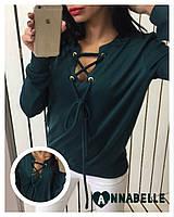 Кофта женская зеленая АА/-1029