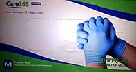 Перчатки нитриловые Care365 Premium,  неопудренные (PF).
