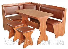 Кухонный уголок + стол 2 стула