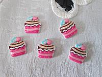 Серединка тортик, малиновий