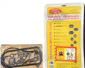Прокладка двигателя ВАЗ 2108, 2109, ВАЗ 2114, ВАЗ 2115 (82,0) двигатель 1,5 с рессивером БЦМ