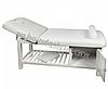 Масажний стіл ZD-877А, колір білий, фото 2