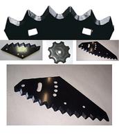 60-0090-37-01-1 Нож косилки  Kuhn 56151200 левый ( 93*40*3 д16,25) (произв. Германия)