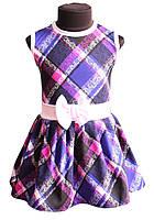 Подростковое платье Кокетка р.110-128