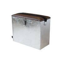 Ящик для зимней рыбалки цинковый