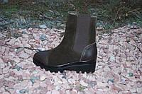 Ботинки женские замшевые / Women's boots chamois