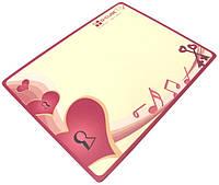 Коврик G-Cube GME-20S (Heart&Soul) Цветной прорезиненый коврик толщиной 2мм, размер 228Х177мм. Сверху покрыт п