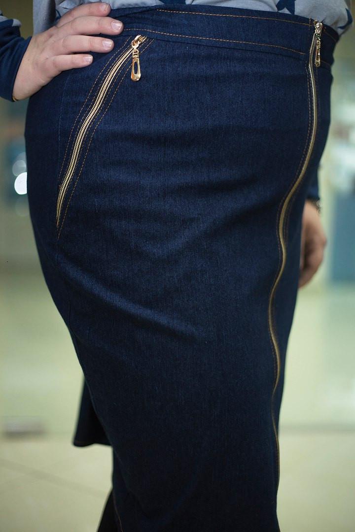 Где купить джинсовую юбку большого размера