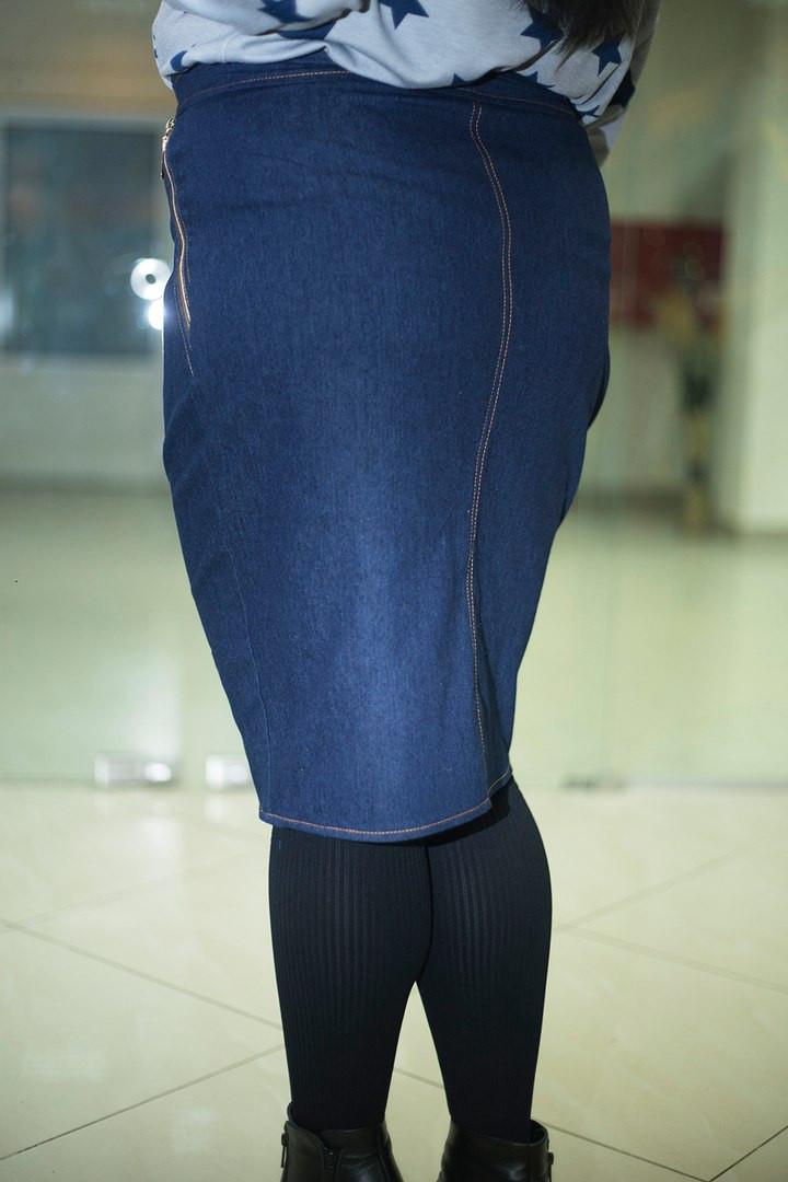Юбка джинсовая большие размеры украина