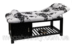 Двухсекционный стационарный массажный стол ZD-887, цвет как на фото