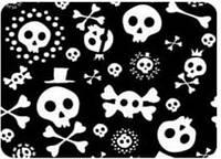 Коврик iTOY на клеевой основе OPTICAL LASER (CB02-10) пиратская тема 220х180x3мм
