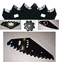 6061701 ERICCIO/02 Нож мульчировщика  центральный 63-N0В-36 1151147, j1551147