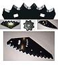60-0200-01-01-0 Нож соломоизмельчителя неподвижный ( 195*50*3, д 12) JD,CLAAS 060030
