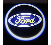 Дверной логотип для автомобиля с подсветкой LED LOGO 020 FORD