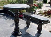 Стол и скамья №6