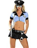 Костюм полицейской с дубинкой