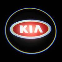 Дверной логотип для автомобиля с подсветкой LED LOGO 100 KIA