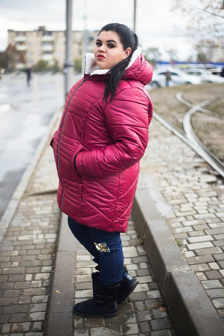 Купить зимнюю женскую одежду больших размеров