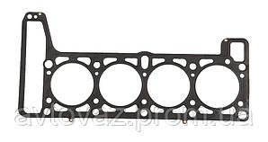Прокладка головки блоку, ГБЦ, ВАЗ 21214, 2123 Нива Шевроле (метал з чорним герметиком, суцільне покриття) БЦМ
