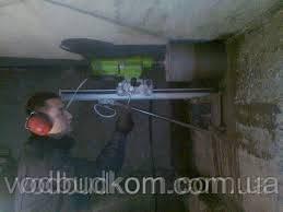 Алмазне буріння свердління отвору діаметром 172 мм Тернопіль