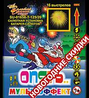 Салют на 16 выстрелов (колибр 20 мм) Мультизффект купить оптом и в розницу в Одессе 7 км со склада в Украине