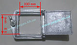 Сажетруска печная алюминиевая (110х115 мм) печи, грубу, мангал, барбекю, фото 2