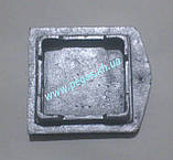 Сажетруска печная алюминиевая (110х115 мм) печи, грубу, мангал, барбекю, фото 3