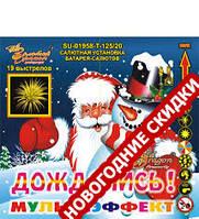 Салют на 19 выстрелов (колибр 20 мм) Мультизффект купить оптом и в розницу в Одессе 7 км со склада в Украине