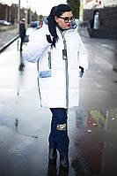 Женская зимняя куртка больших размеров у-1015966