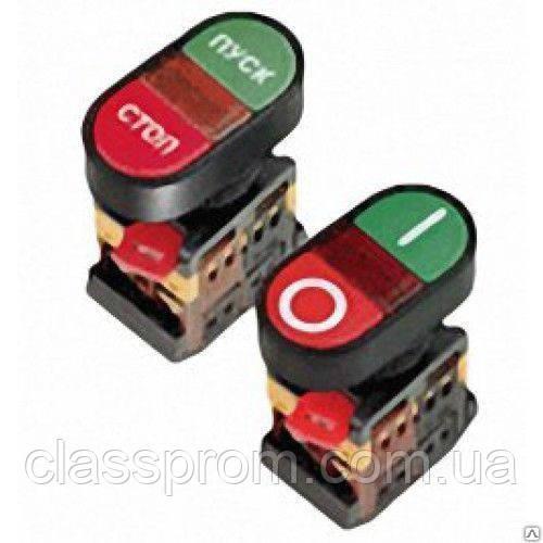"""Кнопка APВВ-22N """"I-O"""" d22мм неон/240В 1з+1р IEK"""