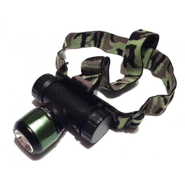 Ультрафиолетовый налобный фонарь Police BL-6953
