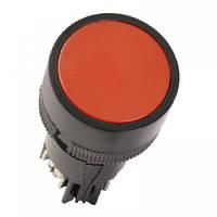 """Кнопка ЅВ-7 """"Стоп"""" червона 1р d22мм/240В IEK"""