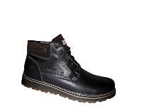 Мужские ботинки зимние на шнуровке