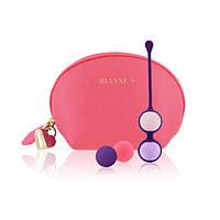 Комплект вагинальных шариков Rianne S Pussy Playballs Coral Rose