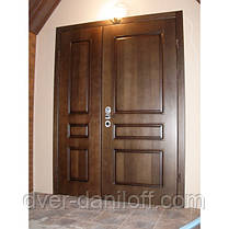 Металлические двери двустворчатые, фото 2